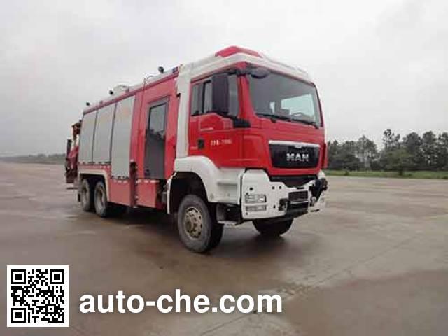 永强奥林宝牌RY5221TXFJY200/B抢险救援消防车