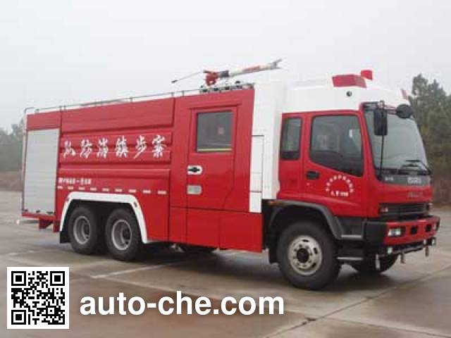 卢森宝亚永强牌RY5235GXFPM100泡沫消防车
