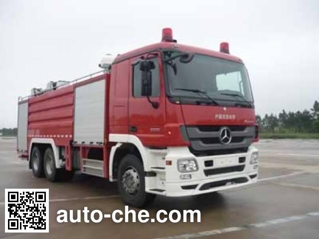 卢森宝亚永强牌RY5272GXFPM120E泡沫消防车