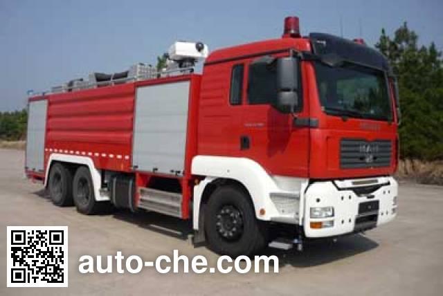卢森宝亚永强牌RY5281GXFPM120F泡沫消防车