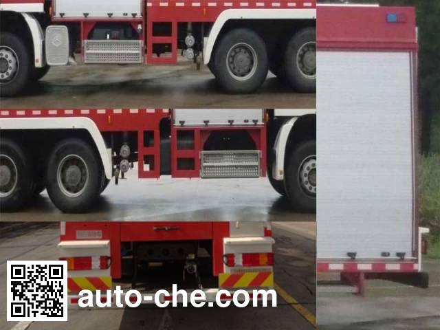 Yongqiang Aolinbao RY5292GXFSG120/N fire tank truck