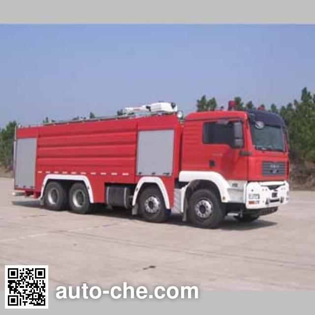 卢森宝亚永强牌RY5358GXFPM180泡沫消防车
