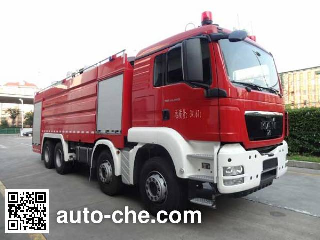 Yongqiang Aolinbao RY5358GXFPM180A foam fire engine