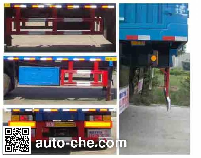 Beiyuda SBY9400XXY box body van trailer