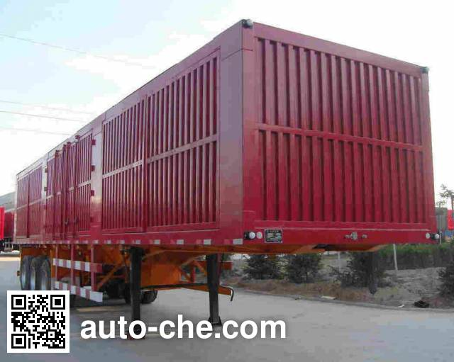 Beiyuda SBY9401XXY box body van trailer
