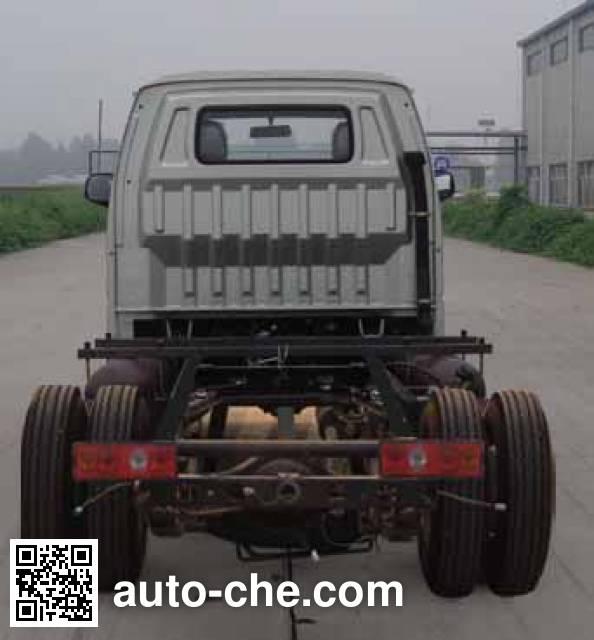 长安牌SC1035DCGB5CNG两用燃料载货汽车底盘