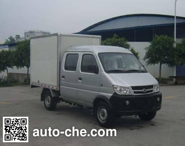 Changan SC5021XXYDS32CNG dual-fuel van truck