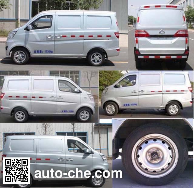 Changan SC5027XXYABBEV electric cargo van