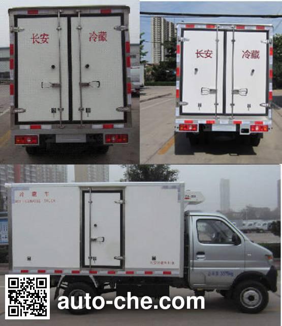 Changan SC5035XLCDCGB5 refrigerated truck