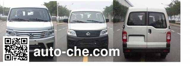 Changan SC6443NV4CNG dual-fuel MPV