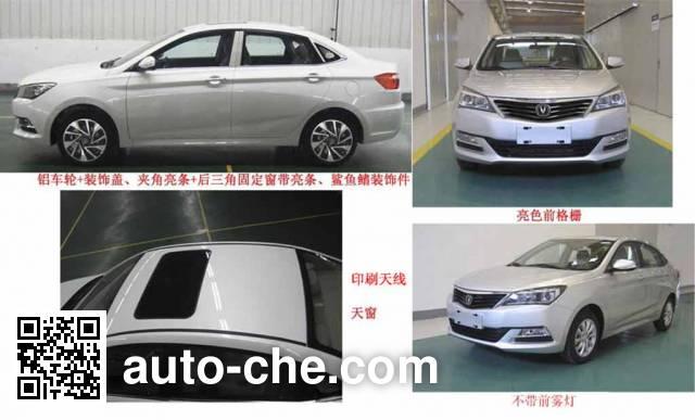 Changan SC7168CH4 car