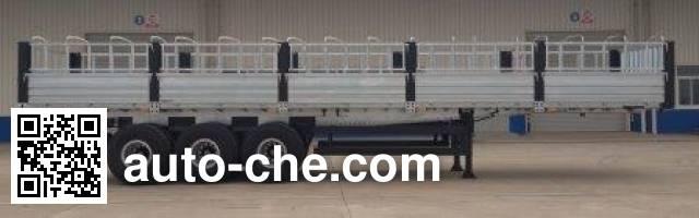卡歌福牌SCB9401CCY仓栅式运输半挂车
