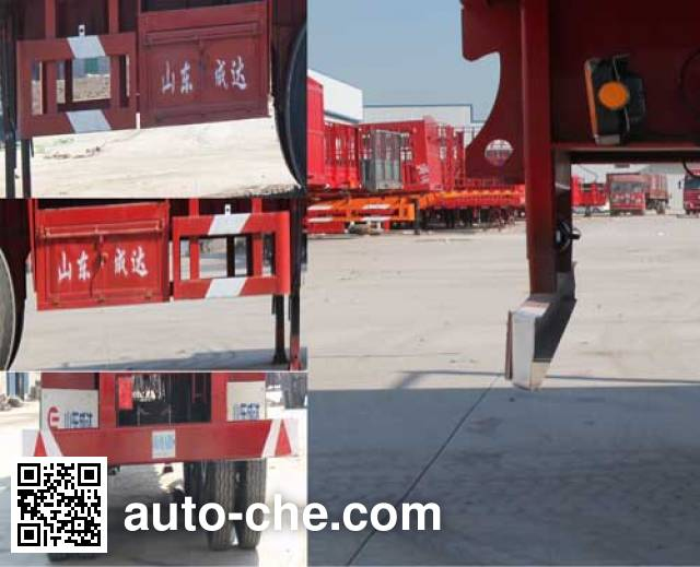 Chengshida SCD9401TYC timber/pipe transport trailer