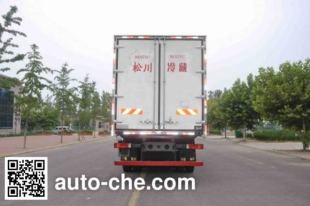 Songchuan SCL5315XLC refrigerated truck