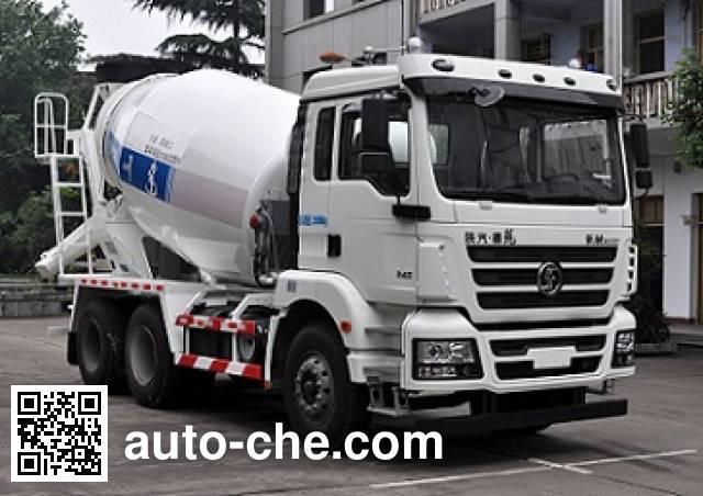 川建牌SCM5256GJBDL4混凝土搅拌运输车