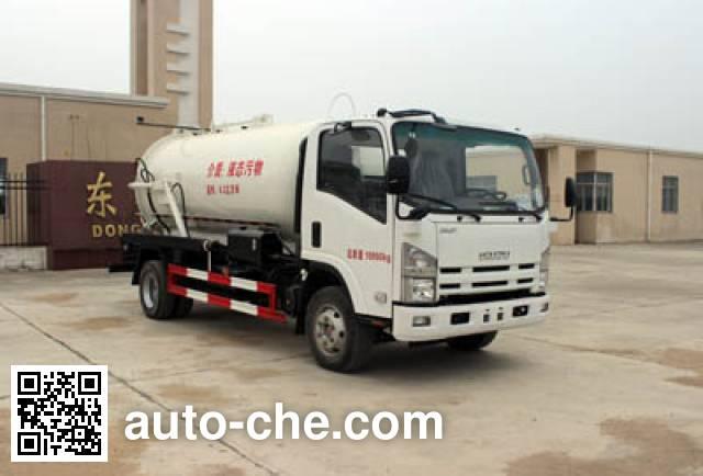 Runli Auto SCS5110GXWQL sewage suction truck