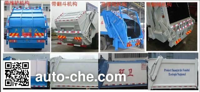 Runli Auto SCS5081ZYSE5 garbage compactor truck