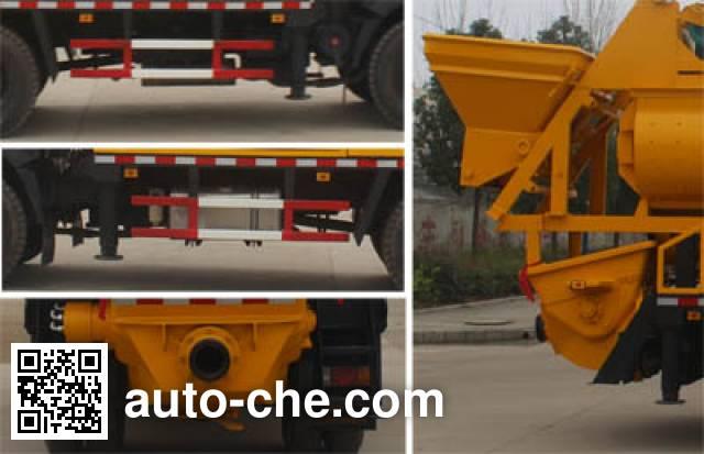 润知星牌SCS5120THBCDW车载式混凝土泵车