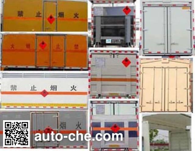 Runli Auto SCS5130XQYBJ explosives transport truck