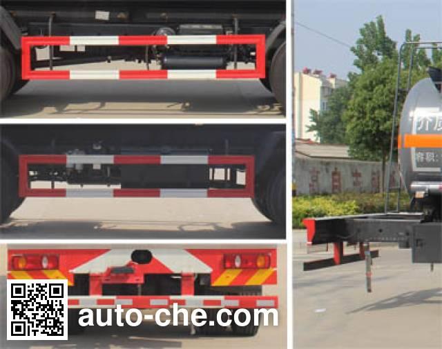 Runli Auto SCS5251GRYD5A flammable liquid tank truck