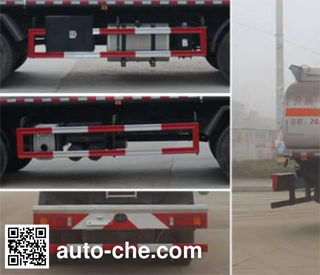 Runli Auto SCS5311GRYD flammable liquid tank truck