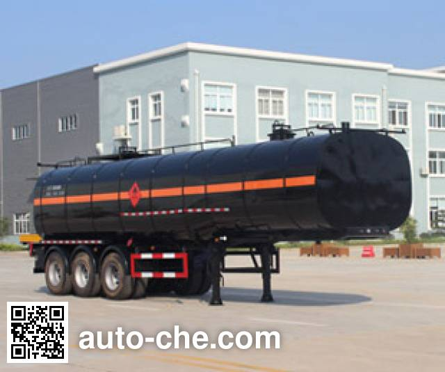 Runli Auto SCS9401GLY liquid asphalt transport tank trailer
