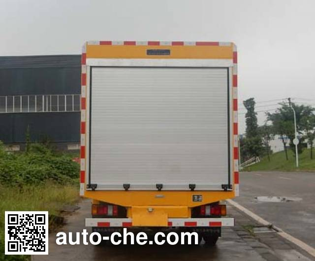 Yuanda SCZ5040TWJ5 sewage suction truck with solid and wet waste separation
