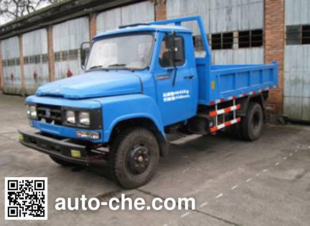 Shandi SD4015CDA low-speed dump truck