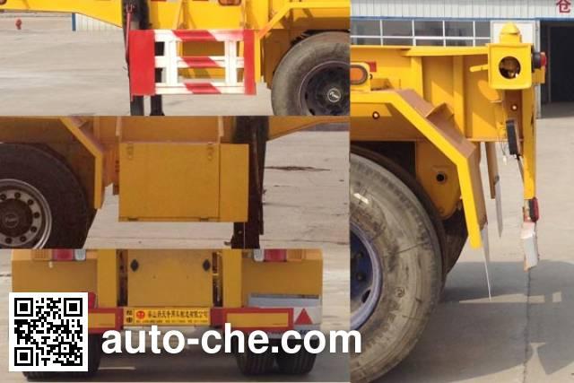Liangshan Yangtian SDB9350TJZ container transport trailer