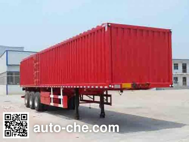 Liangshan Yangtian SDB9401XXY box body van trailer