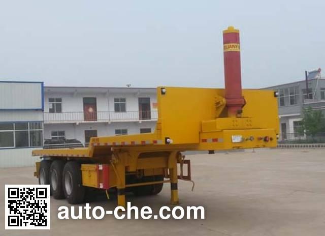 Liangshan Yangtian SDB9401ZZXP flatbed dump trailer