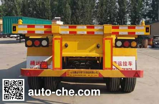 Yuntengchi SDT9402TJZ container transport trailer
