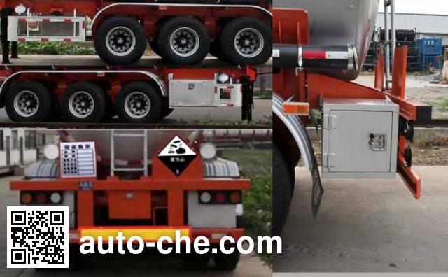 万事达牌SDW9390GFW腐蚀性物品罐式运输半挂车