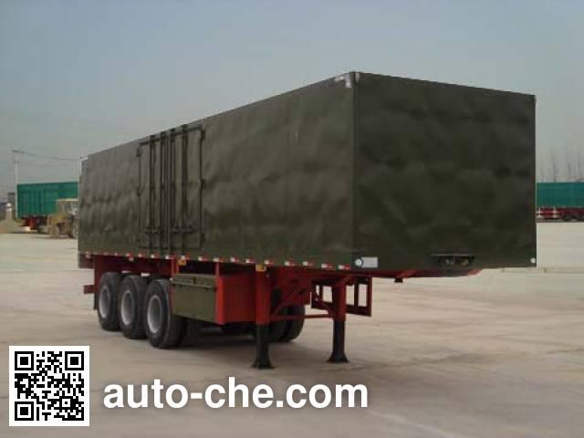 Wanshida SDW9320XXY box body van trailer