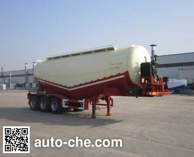 Wanshida SDW9401GFL medium density bulk powder transport trailer