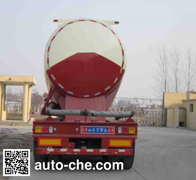 Wanshida SDW9402GFL medium density bulk powder transport trailer