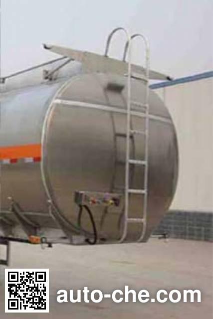 万事达牌SDW9402GFW腐蚀性物品罐式运输半挂车