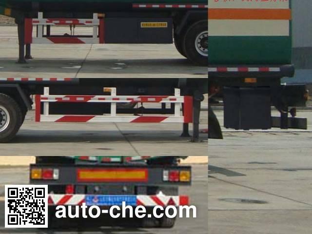 Wanshida SDW9402GRY flammable liquid tank trailer