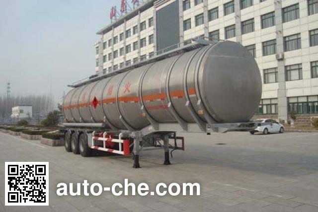 Wanshida SDW9402GYY aluminium oil tank trailer