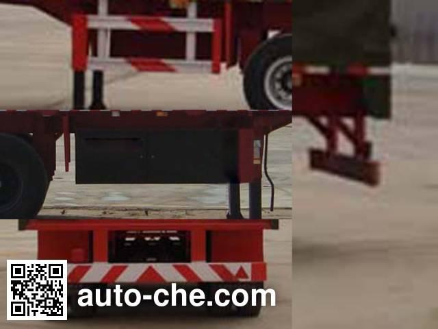 Wanshida SDW9402XXY box body van trailer