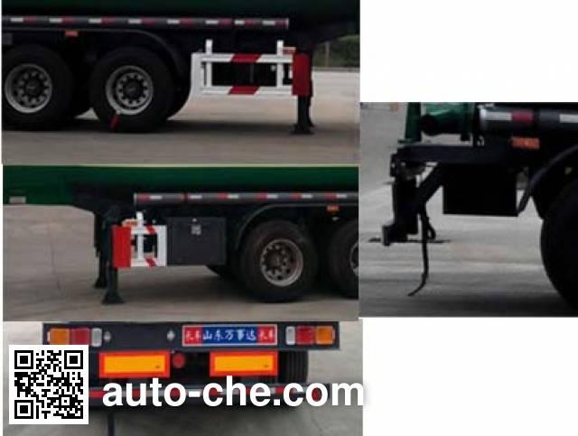 Wanshida SDW9403GRYA flammable liquid tank trailer