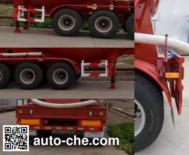Wanshida SDW9405GFL medium density bulk powder transport trailer