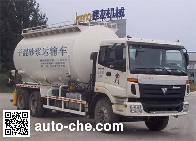 Janeoo SDX5250GGH dry mortar transport truck