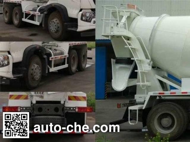 Janeoo SDX5250GJBT5 concrete mixer truck