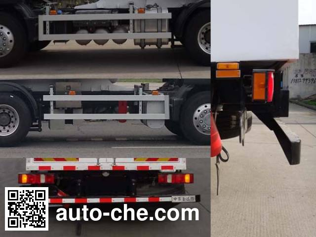 Shengdayin SDY5220GDYY cryogenic liquid tank truck