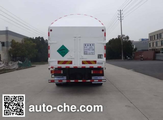 Shengdayin SDY5250GDYN cryogenic liquid tank truck
