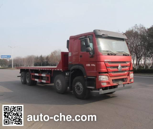 Shengyue SDZ3317ZPB46 flatbed dump truck