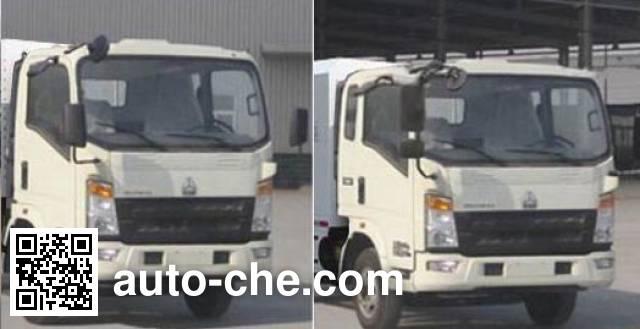 Shengyue SDZ5087TSLE street sweeper truck