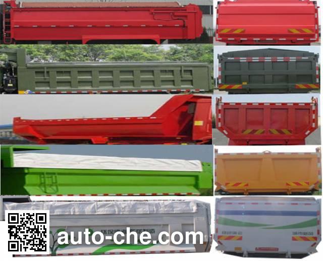 Shengyue SDZ5165ZLJ dump garbage truck