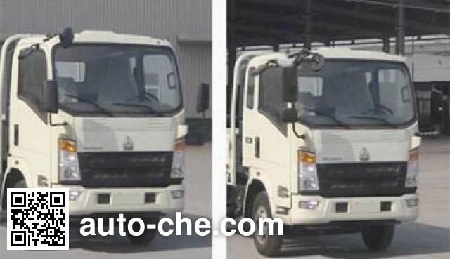 Shengyue SDZ5167TFSE powder spreader truck